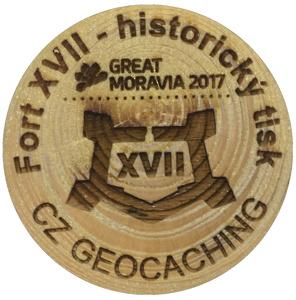 Fort XVII - historický tisk (wge02400)