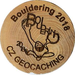 Bouldering 2018