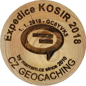 Expedice KOSIR 2018