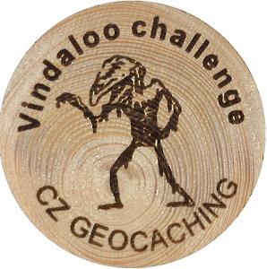 Vindaloo challenge