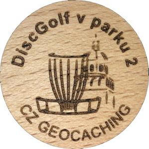 DiscGolf v parku 2