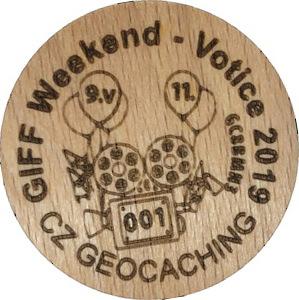 GIFF Weekend - Votice 2019