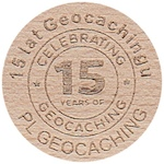 15 lat Geocachingu