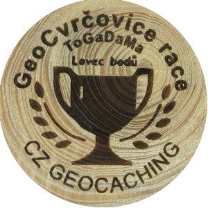 GeoCvrčovice race