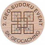 2. GEO-SUDOKU EVENT