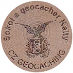 Sokol a geocacher Kalty